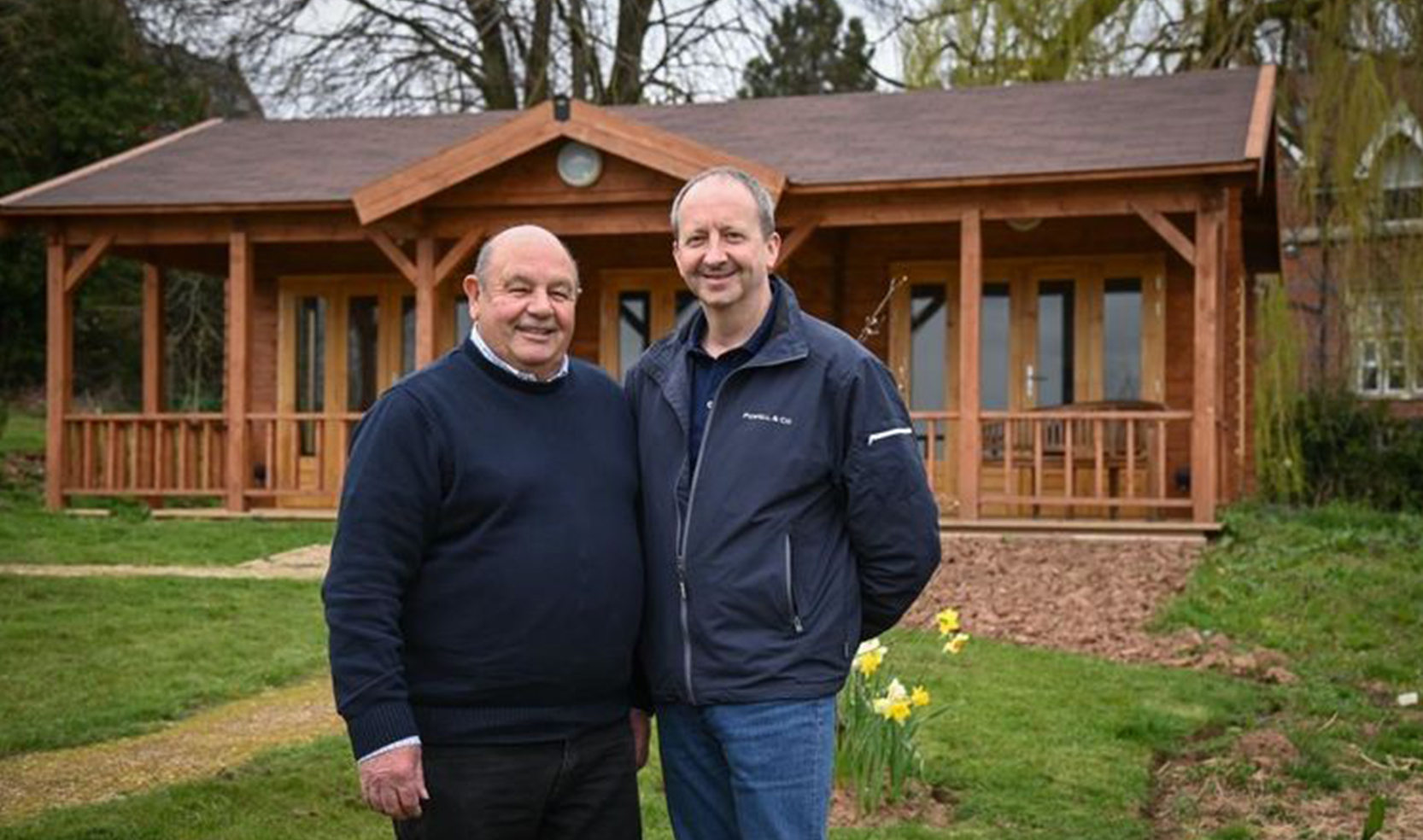 A multi-use summer house offering one of the best views at St Michael's is up and running