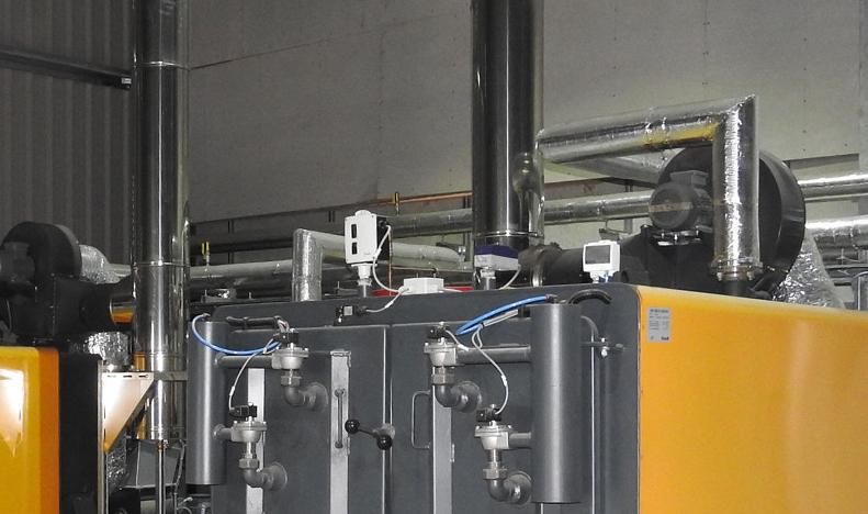 biomass boiler plant room