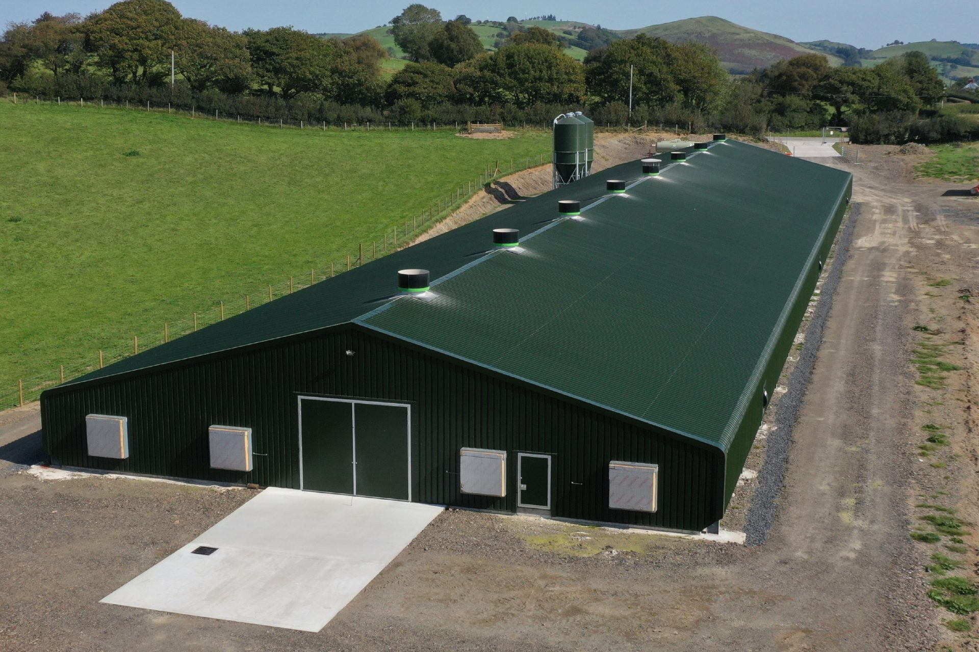 Pullet Rearing Shed Powell & Co