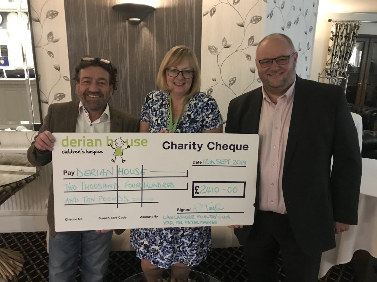 Lancashire Poultry Club Donation